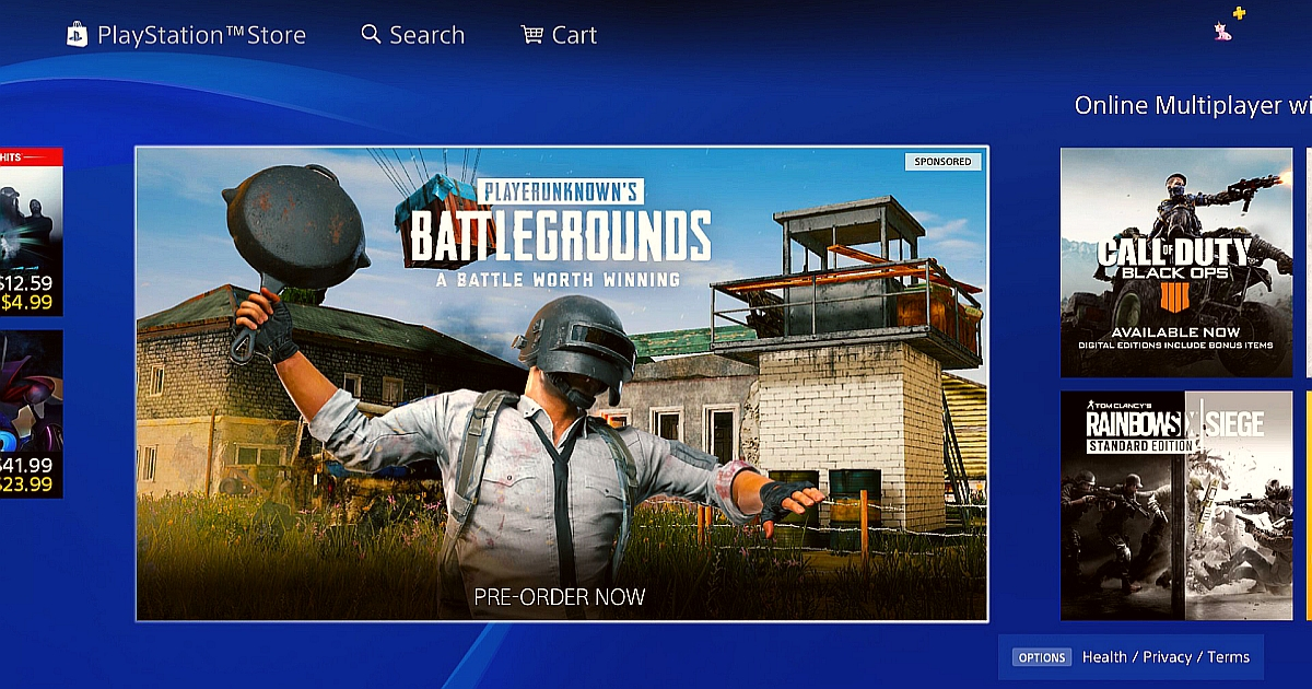 Download PUBG Now Available on PlayStation